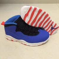 Air Jordan 10 Tinker Blue Shoes