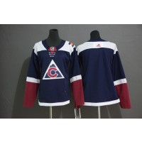 NHL Avalanche Blank Red Adidas Women Jersey