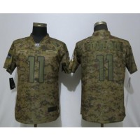 Nike Cardinals 11 Larry Fitzgerald 2018 Camo Salute to Service Limited Women Jersey