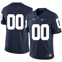 NCAA Penn State Nittany Lions Navy Men's Customized Nike College Football Legend Men Jersey