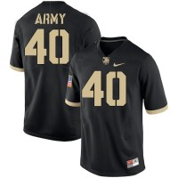 NCAA Army Black Knights 40 Andy Davidson Black College Football Men Jersey