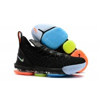 Nike LeBron 16 Black Colorful Shoes