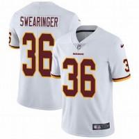 Nike Redskins 36 D.J. Swearinger White Vapor Untouchable Limited Men Jersey