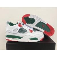 Air Jordan 4 NRG White/Gorge Green-Varsity Red Shoes
