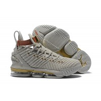 "Nike LeBron 16 ""HFR"" Sail/White/Light Bone Shoes"
