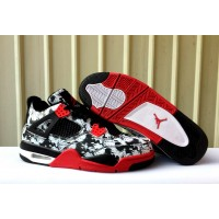Air Jordan 4 NRG Tattoo Black Shoes