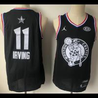 NBA Celtics 11 Kyrie Irving Black 2019 All-Star Game Men Jersey