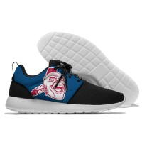 MLB Atlanta Braves Roshe Style Lightweight Running Shoes   4