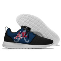MLB Atlanta Braves Roshe Style Lightweight Running Shoes   2