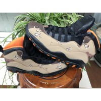 "Air Jordan 10 Retro ""Desert Camo"" Shoes"
