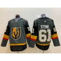 NHL Knights 61 Mark Stone Gray Home Adidas Men Jersey