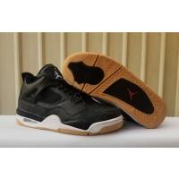 Air Jordan 4 Laser SE 'Black Gum' Shoes