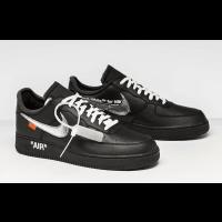 Nike Air Force 1  MoMA x Virgil Black Shoes
