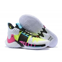 Russell Westbrook Jordan Why Not Zer0.2 White Pink Black Shoes