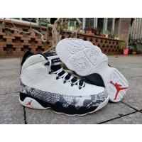 """Air Jordan 9 """"White Gray Snakeskin"""" Shoes"""