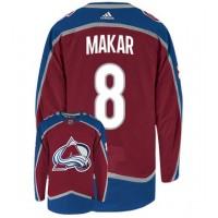 NHL Avalanche 8 Cale Makar Burgundy Adidas Men Jersey