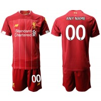 2019-20 Liverpool Customized Home Soccer Men Jersey