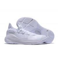 """UA Curry 6 """"Triple White"""" Shoes"""