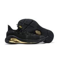 UA Curry 6 Black Gold Shoes