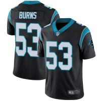 Nike Panthers 53 Brian Burns Black Vapor Untouchable Limited Men Jersey