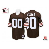 Cleveland Browns brown throwback Custom jersey