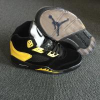 "Air Jordan 5 Retro ""Oregon Ducks Black Duckman"" Shoes"