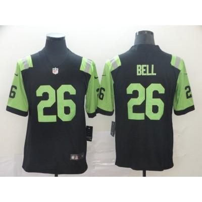 NFL Jets 26 Le'veon Bell City Edition Green Jersey