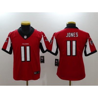 Nike Falcons 11 Julio Jones Red Vapor Untouchable Youth Limited Jersey