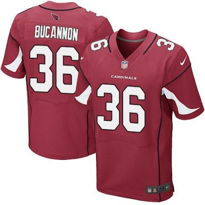 Nike Arizona Cardinals No.36 Deone Bucannon Red Men's Football Elite Jersey