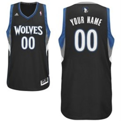Minnesota Timberwolves Custom Swingman Alternate Basketball Jersey