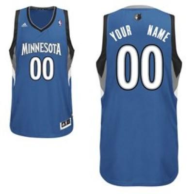 Minnesota Timberwolves Light Blue Custom Basketball Jersey