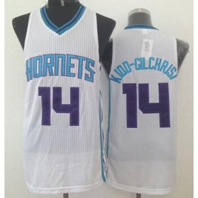 NBA Hornets 14 Michael Kidd-Gilchrist White Revolution 30 Men Jersey