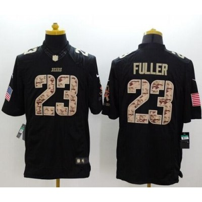 Nike Bears 23 Kyle Fuller Black Youth Stitched NFL Limited Salute to Service Jersey