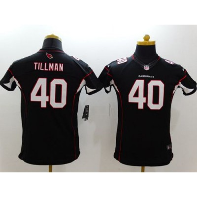 Nike Cardinals 40 Pat Tillman Black Alternate Youth Stitched NFL Limited Jersey