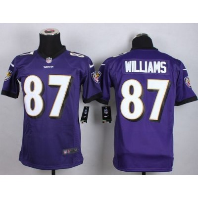 2015 Draft Nike Ravens 87 Maxx Williams Purple Team Color Youth Stitched NFL New Elite Jersey