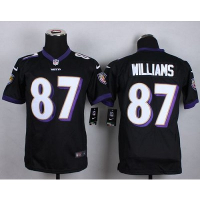 2015 Draft Nike Ravens 87 Maxx Williams Black Alternate Youth Stitched NFL New Elite Jersey