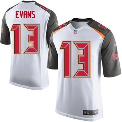 Nike Buccaneers 13 Mike Evans White Youth Stitched NFL New Elite Jersey