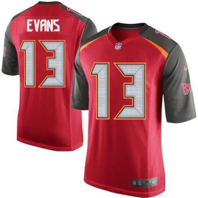 Nike Buccaneers 13 Mike Evans Red Team Color Youth Stitched NFL New Elite Jersey