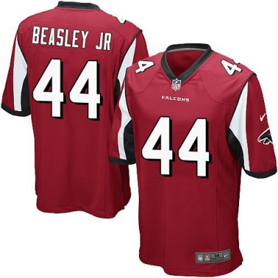 Nike Falcons 44 Vic Beasley Jr Red Team Color Youth Stitched NFL Elite Jersey