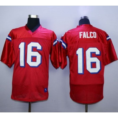 The Replacements 16 Shane Falco Red Stitched Football Movie Jersey