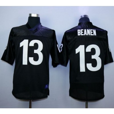 Any Given Sunday 13 Willie Beamen Black Stitched Football Movie Jersey