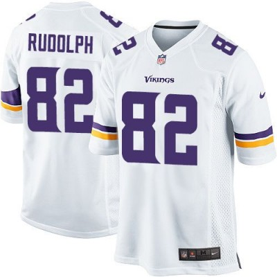 Nike Vikings 82 Kyle Rudolph White Youth Stitched NFL Elite Jersey