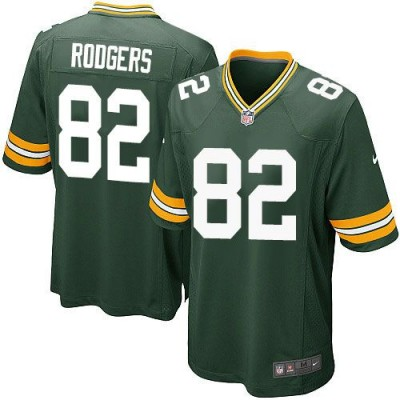 Nike Packers 82 Richard Rodgers Green Team Color Youth Stitched NFL Elite Jersey