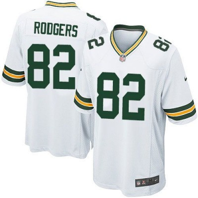 Nike Packers 82 Richard Rodgers White Youth Stitched NFL Elite Jersey