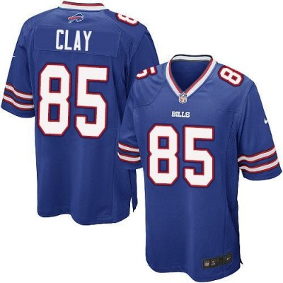 Nike Bills 85 Charles Clay Royal Blue Team Color Youth Stitched NFL New Elite Jersey