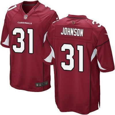 Nike Cardinals 31 David Johnson Red Team Color Youth Stitched NFL Elite Jersey
