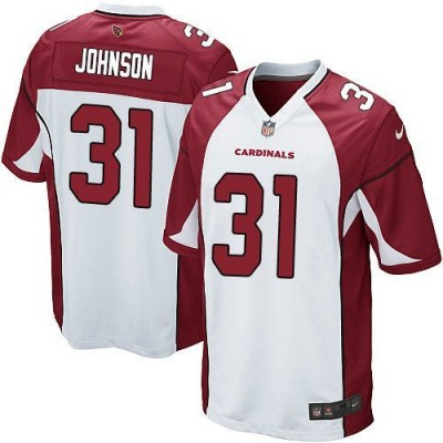 Nike Cardinals 31 David Johnson White Youth Stitched NFL Elite Jersey