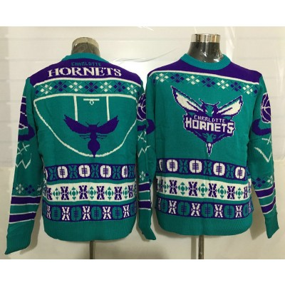 NBA Hornets Crew Neck Mens Ugly Sweater