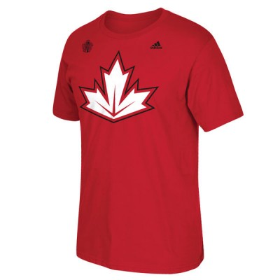 Mens Canada Red 2016 World Cup of Hockey T-Shirt