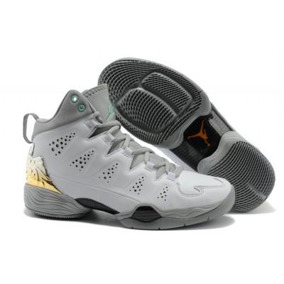 Air Jordan 28 SE Men Basketball Mens Shoes White Grey
